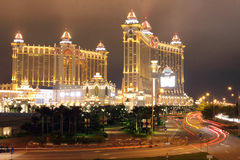 Macau : Galaxy Hotel Stock Photography