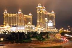 Macau : Galaxy Hotel stock photography