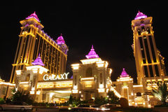Macau : Galaxy Hotel. Galaxy Hotel in Galaxy Macau Stock Photography