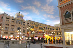 Macau : The Grand Canal Shoppes Stock Photo