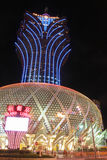 Macau : Grand Lisboa Hotel Royalty Free Stock Image