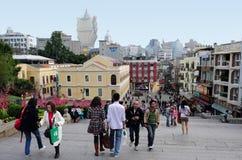 Macau Historic Center Royalty Free Stock Photo