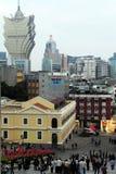 Macau Historic Center Stock Photos