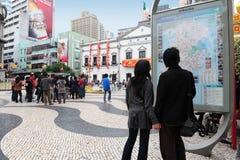 Macau Historic Center Royalty Free Stock Photography