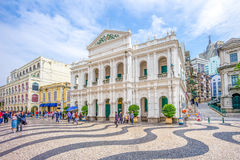 Macau Holy House of Mercy. In Macau China Royalty Free Stock Image