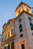 Macau katedra (Historyczny Centre Macau) Fotografia Stock