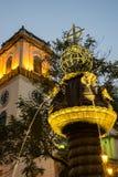 Macau katedra (Historyczny Centre Macau) Fotografia Royalty Free