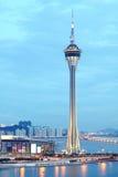 Macau-Kontrollturm Stockfotografie