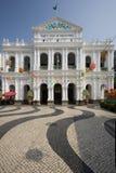 Macau - Largo de Senado Fotografia de Stock Royalty Free