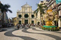 Macau - Largo do Senado Royalty Free Stock Photos