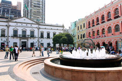 Macau : Leal Senado Square  Stock Photography