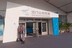 Macau lotnictwa biznesowa wystawa 2013 Obrazy Royalty Free