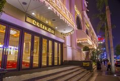Wynn Hotel Macau. MACAU - MARCH 07 :  The Wynn Hotel and casino in Macau on March 07 2018. The hotel has 594 rooms and opened in 2006 Royalty Free Stock Image