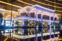 Wynn Hotel Macau. MACAU - MARCH 07 :  The Wynn Hotel and casino in Macau on March 07 2018. The hotel has 594 rooms and opened in 2006 Stock Photos