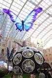 Macau : MGM Butterfly Pavilion stock photos