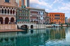 Macau miasta widok Fotografia Royalty Free