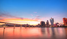 Macau miasto Obrazy Stock