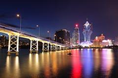 Macau at night Stock Photos