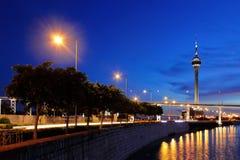Macau at night Stock Photography