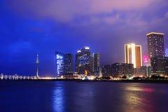 Macau at night Stock Images