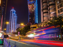 Macau at night Royalty Free Stock Image