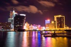 Macau night city Royalty Free Stock Photography