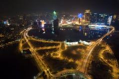 Macau night scene Stock Image