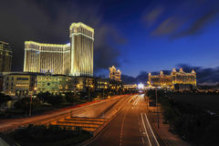 Macau Night Royalty Free Stock Photos