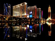 Free Macau Night Views Royalty Free Stock Images - 107307079
