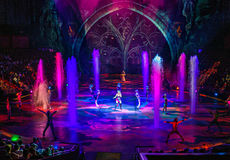 Macau - November 20, 2015: The House of Dancing Water Royalty Free Stock Image