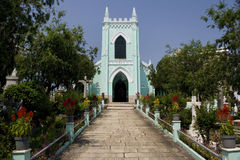 Macau - Old Protestant Cemetery Royalty Free Stock Photography