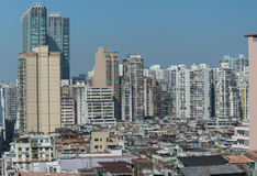 Macau old town Royalty Free Stock Image