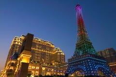 Macau : Parisian Macao Royalty Free Stock Photos