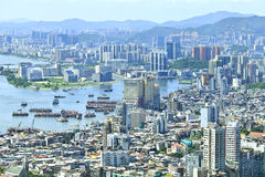 Macau pejzaż miejski Zdjęcia Royalty Free