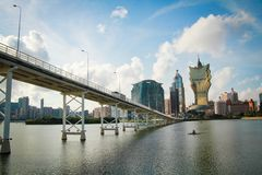 Macau point of view Royalty Free Stock Image
