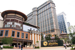 Macau : Sands Contai Central Stock Photo