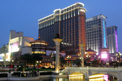 Macau : Sands Contai Central royalty free stock photo