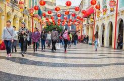 Macau  Senado Square Stock Images