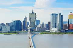 Macau skyline Stock Photography