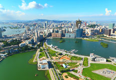 Macau skyline Stock Images