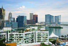 Macau skyline Stock Photo