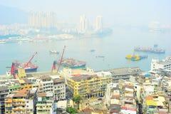 Macau slums Stock Image