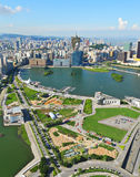 Macau-Stadtansicht Stockfotos