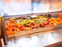 Macau Street Food Stall Royalty Free Stock Photo