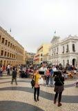 Macau Streets Stock Photography