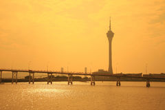 Free Macau Tower Royalty Free Stock Photos - 30112438