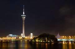 Macau Tower Convention and Entertainment Center Stock Photos