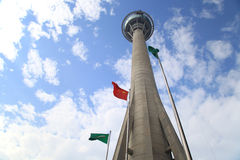 Macau Tower. Convention and Entertainment Centre Royalty Free Stock Photos