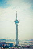 Macau tower Royalty Free Stock Photo