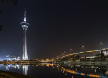 Macau tower in macao macau china Stock Photos